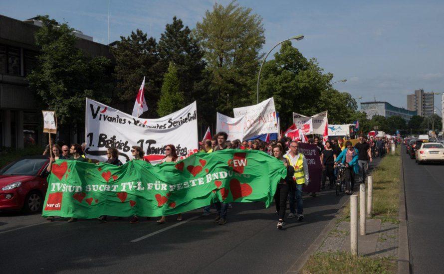 Solidarität mit dem Vivantes-Streik