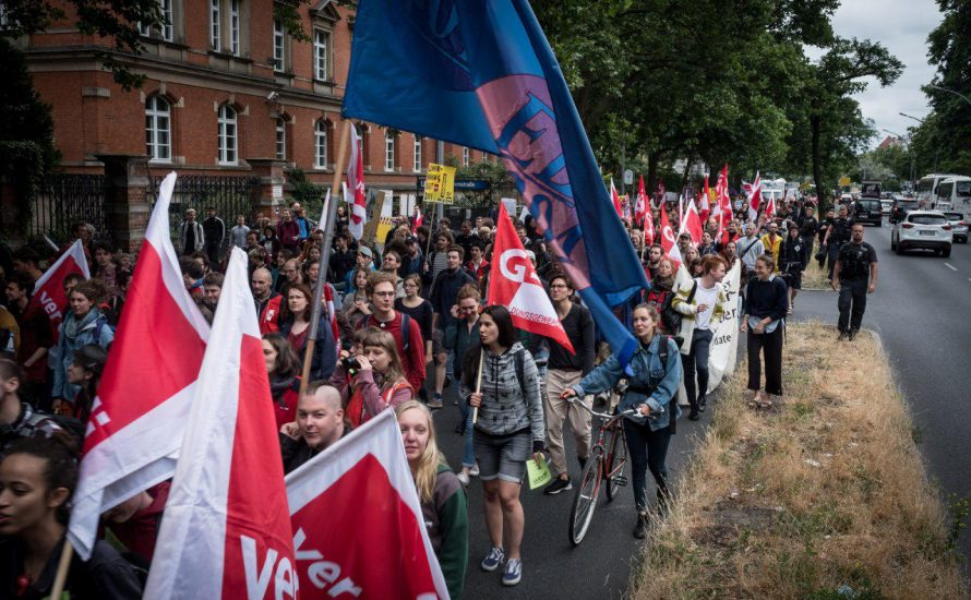 TVStud-#Megastreik – Der längste Streik studentischer Beschäftigter in der Geschichte Berlins