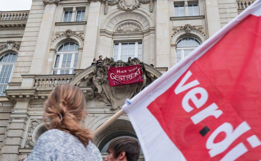 Einigungspapier ablehnen und weiterstreiken! Gegen den Druck von Senat und Hochschulen!