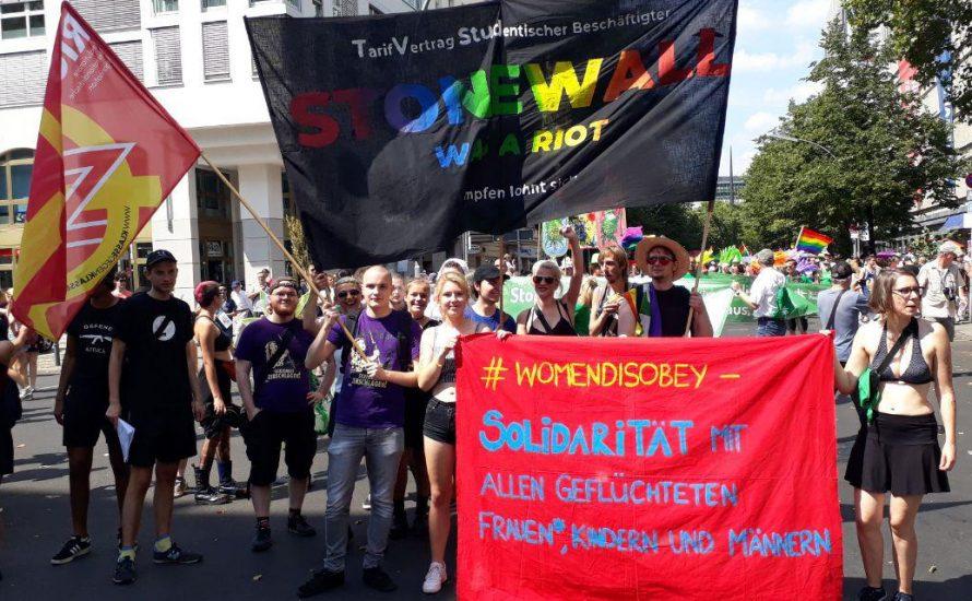 Stonewall was a riot – Kämpfen lohnt sich!