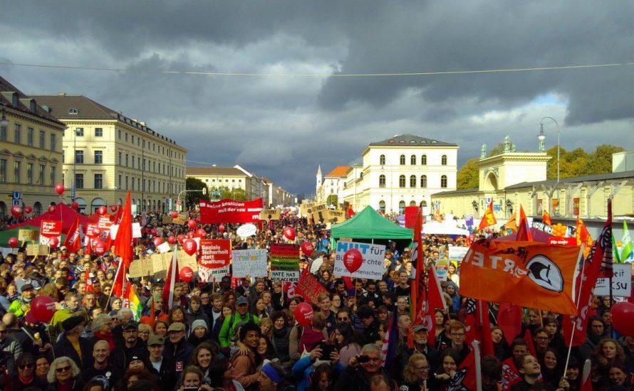 München: Erneut Zehntausende gegen PAG und Rechtsruck