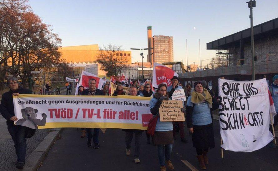 [Video] 16.11.: TVöD/TV-L für alle!