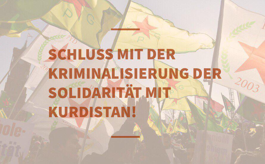 Schluss mit der Kriminalisierung der Kurdistan-Solidarität!