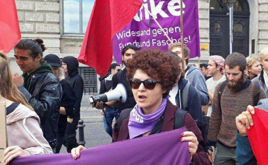 """""""Wir stellen uns gegen einen Feminismus,  der sich hoffend an den Staat und die Regierung richtet"""""""
