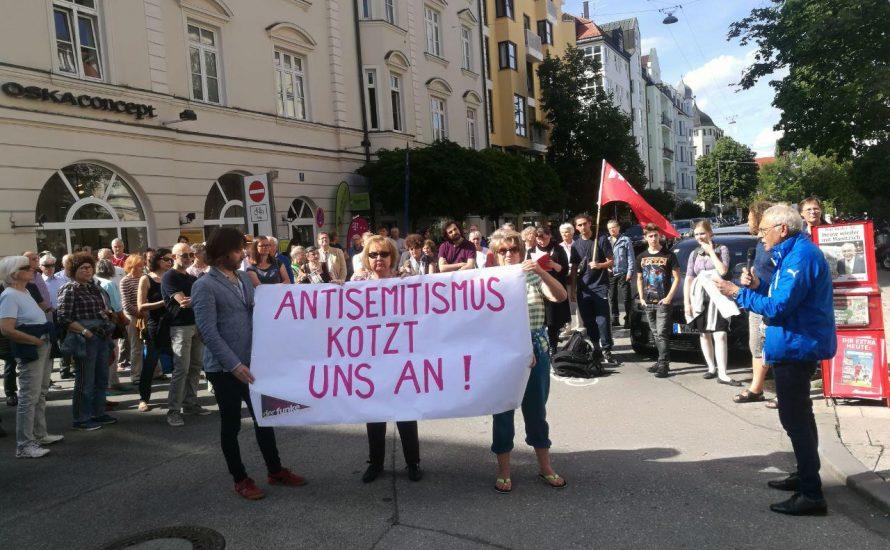 Antisemitischer Angriff in München-Schwabing: Kein Friede mit dem deutschen Imperialismus!