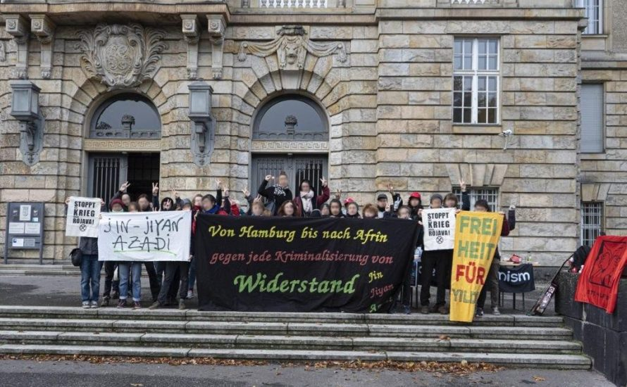 #freedom4yildiz: Deutsche Justiz kriminalisiert kurdische Frauenrechtsaktivistin