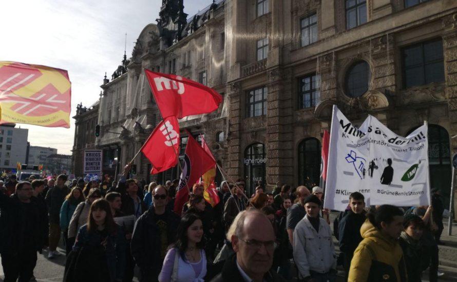 5.000 demonstrieren in München gegen Krieg und Imperialismus