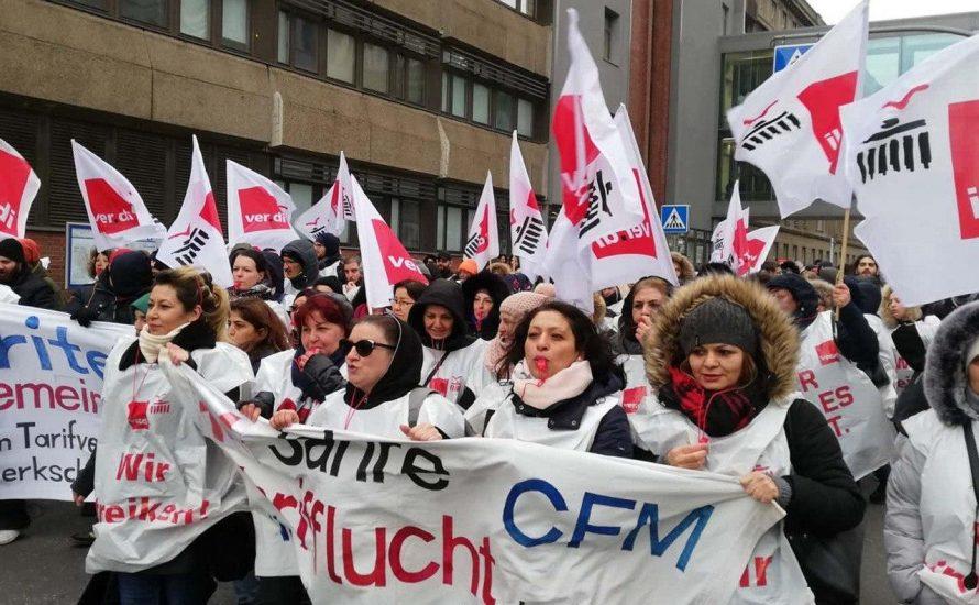 CFM-Streik geht weiter: Solidarität ist nötig!