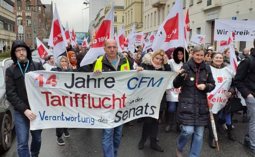 CFM-Streik in Gefahr: Dringend Solidarität nötig!