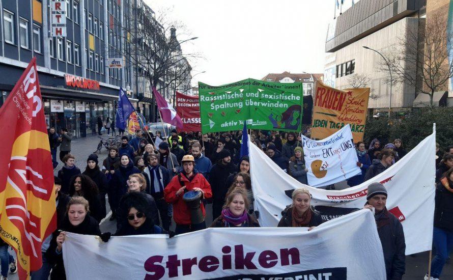 20.000 bei kämpferischer Demo am 8. März in Berlin