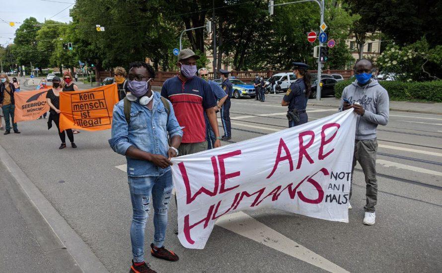 Demo: Gegen die Verbreitung von Corona in Ankerzentren durch die Bayerische Regierung!