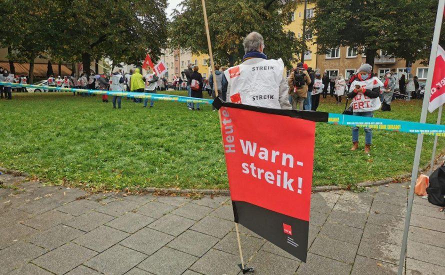 """Krankenhausstreik in München: """"Wir erleben jeden Tag die Realität eines total profitorientierten Gesundheitssystems"""""""