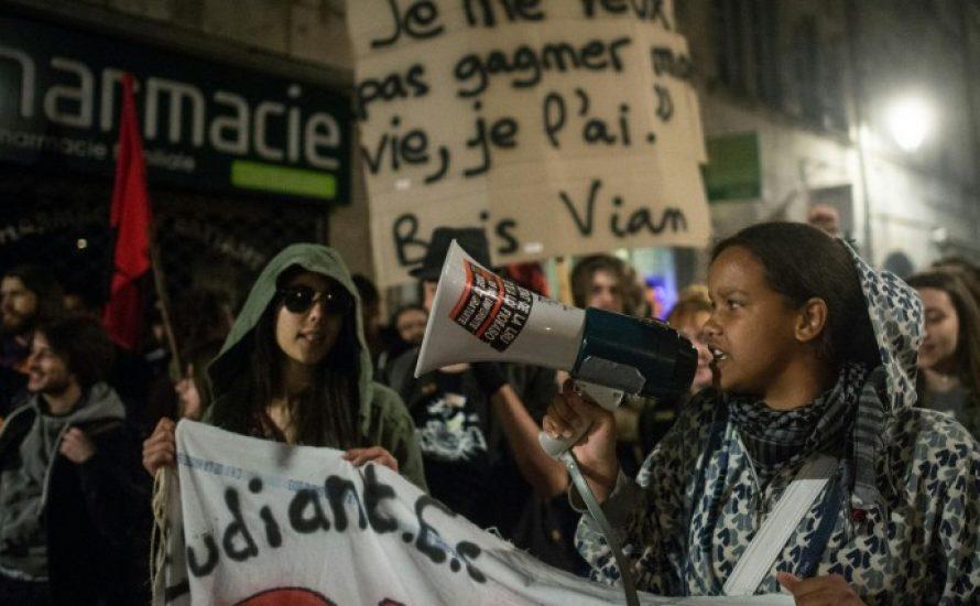 Studierende kämpfen in Katalonien und Frankreich