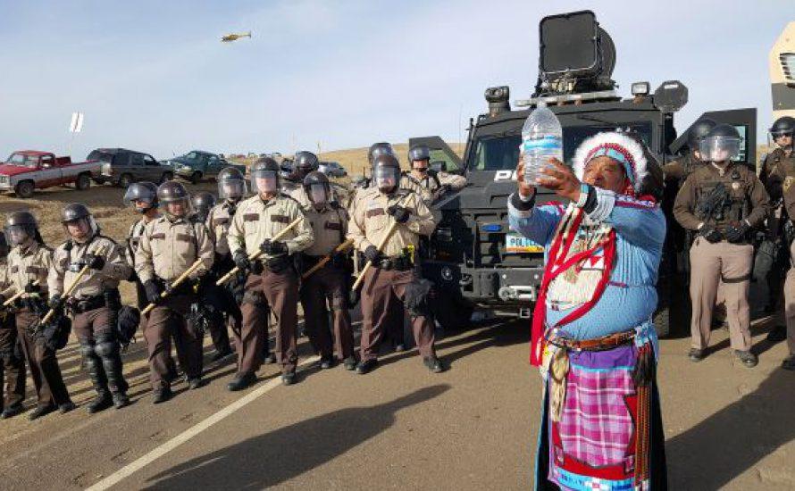 Eine Million Menschen waren gerade in Standing Rock, South Dakota