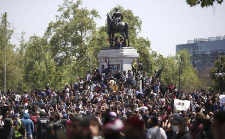 """Chile: """"Für einen aktiven Generalstreik bis zum Sturz von Piñera!"""""""
