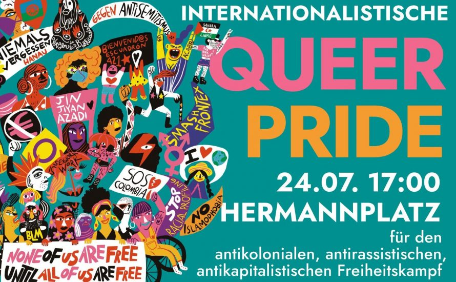Am Samstag in Berlin: Auf die Straße gegen Queerfeindlichkeit und Kolonialismus!