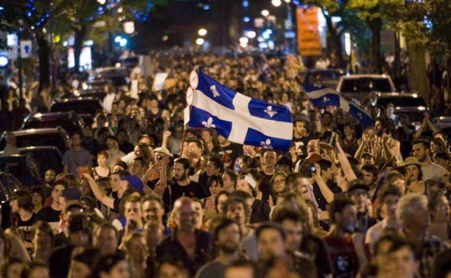 Québec: Mouvement étudiant