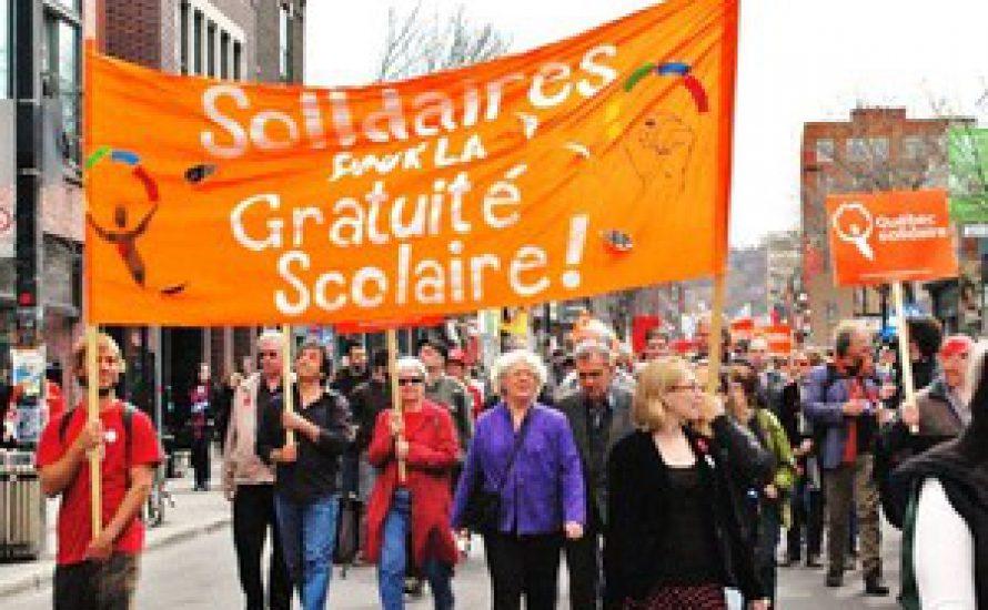 Québec: Studierende seit 12 Wochen im Streik
