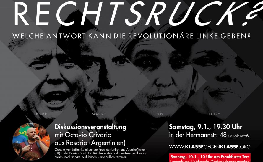 Rechtsruck? Diskussionsveranstaltung in Berlin mit Aktivisten aus Argentinien