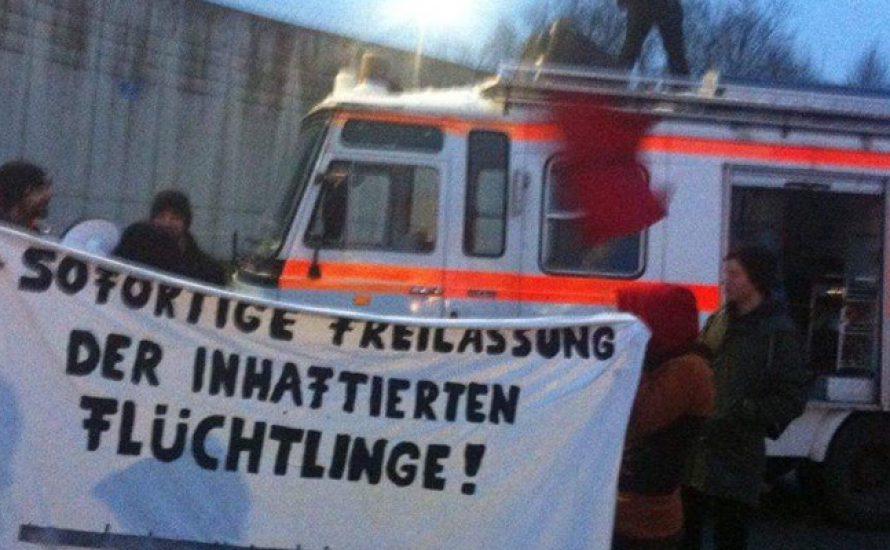Geflüchtete im Hungerstreik: Solidarität in Mühldorf am Inn