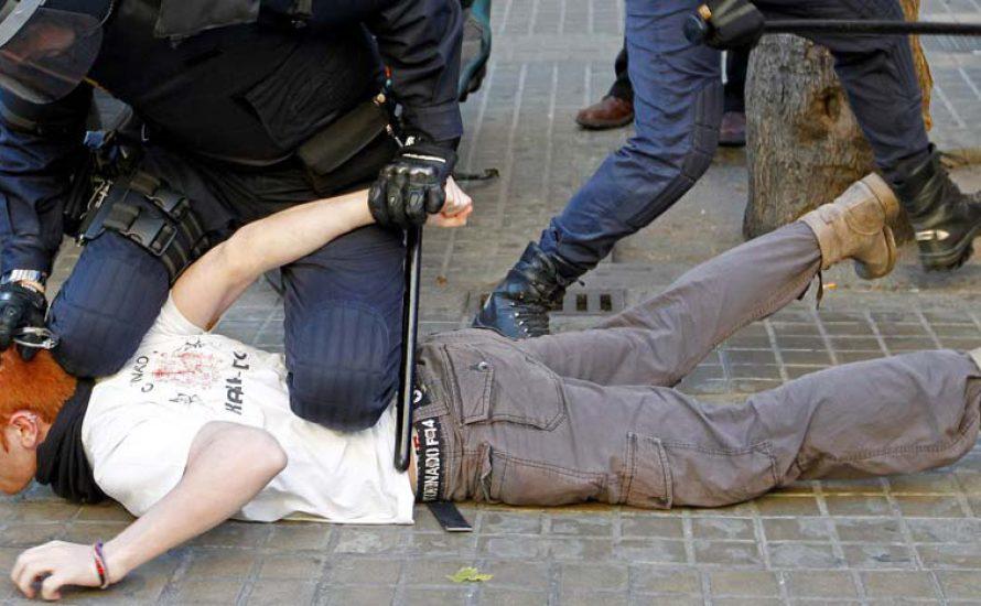 Brutale Repression gegen die SchülerInnenbewegung in Valencia