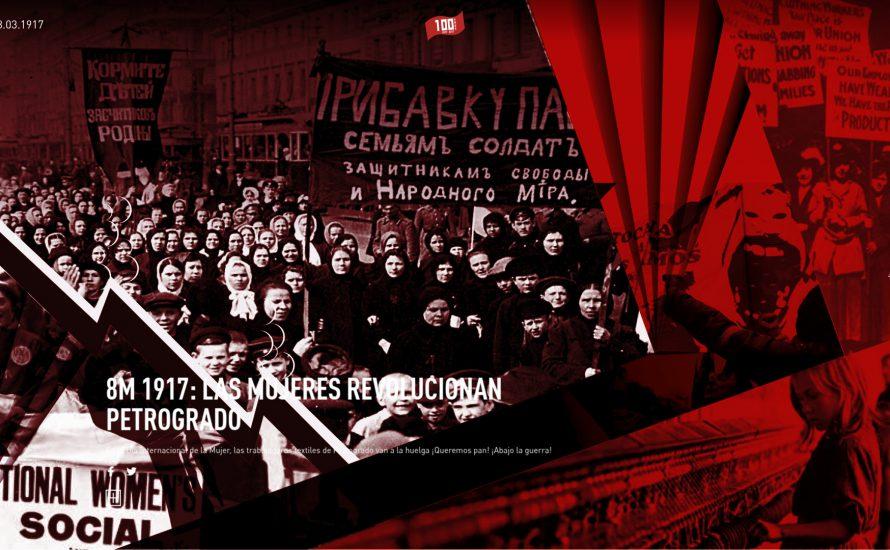 Heute startet eine interaktive Website zur Erkundung der Geschichte der Russischen Revolution