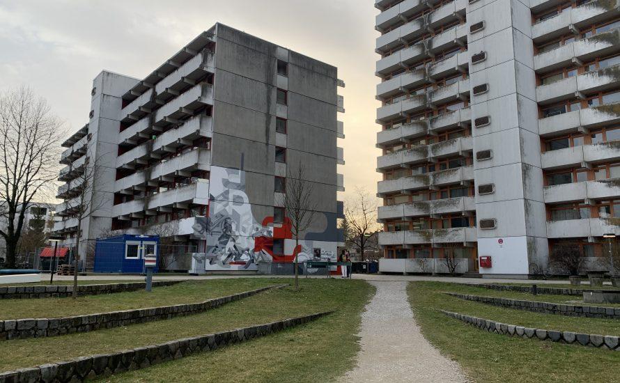 Tod einer Studentin nach Brand in Studentenstadt München