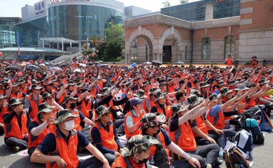 Südkorea: Hunderttausend kämpfen gegen prekäre Arbeit