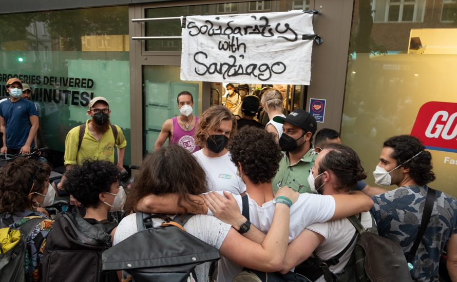 Gorillas-Streik: Kein Unternehmen darf das Recht haben, willkürlich Arbeiter:innen zu feuern!