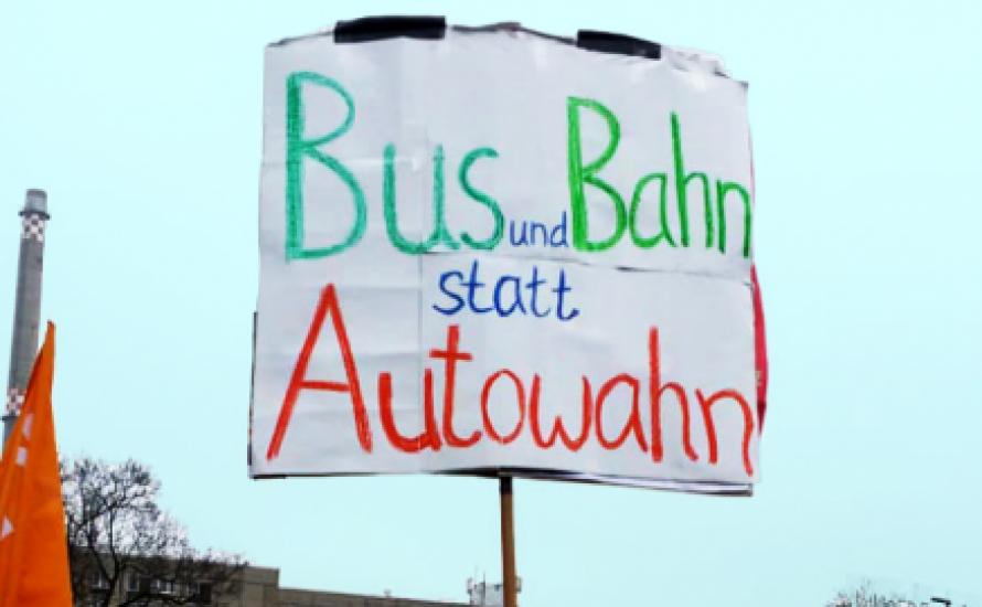 Klimastreik: Mehr ÖPNV ist besser für alle!