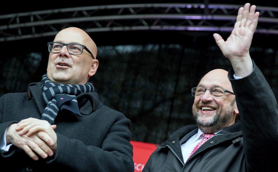 Ist der Schulz-Zug in Kiel abgefahren?