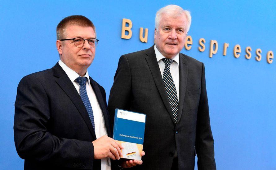 Seehofer stellt Verfassungsschutzbericht vor: die Mär der