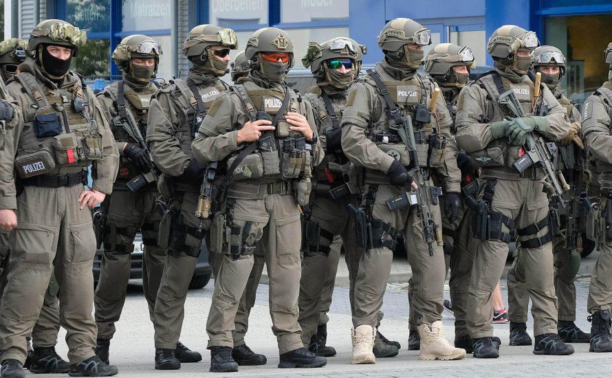 Polizei: Auch Sachsen soll eine kleine Armee bekommen
