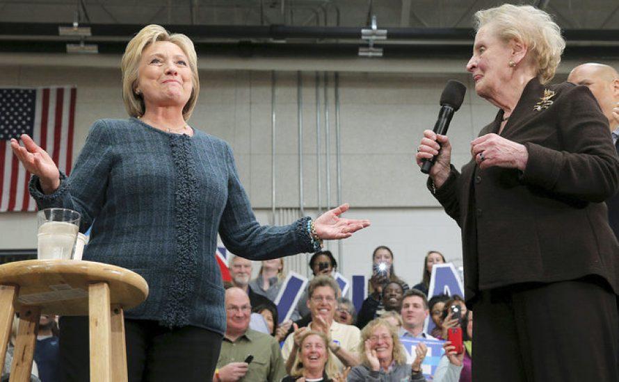 Feministinnen für Clinton?