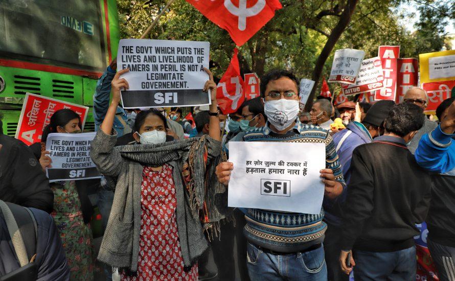 250 Millionen auf der Straße - warum die Arbeiter:innen in Indien streiken