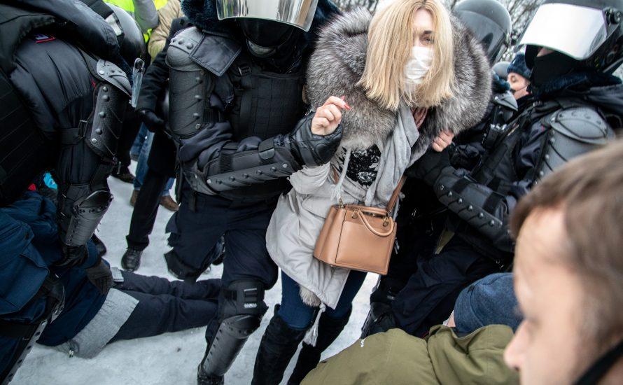 Russland: mehr als 5.600 Verhaftungen bei Protest am Sonntag