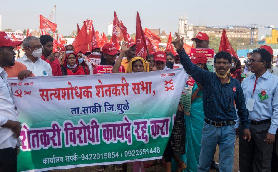 Indien: Massenproteste nach dem Streik mit 250 Millionen gehen weiter