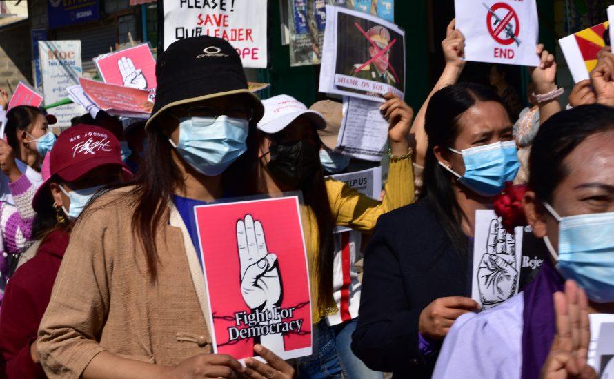 Massive Generalstreiks in Myanmar gegen den Coup