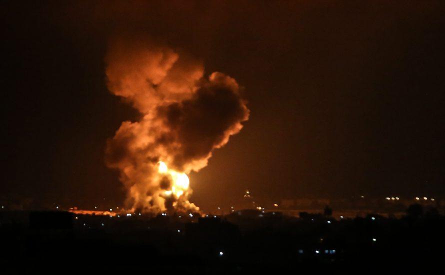 Israels neue Regierung startet Luftangriffe auf den Gazastreifen
