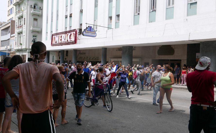 Mobilisierungen auf Kuba und die Verteidigung der Revolution