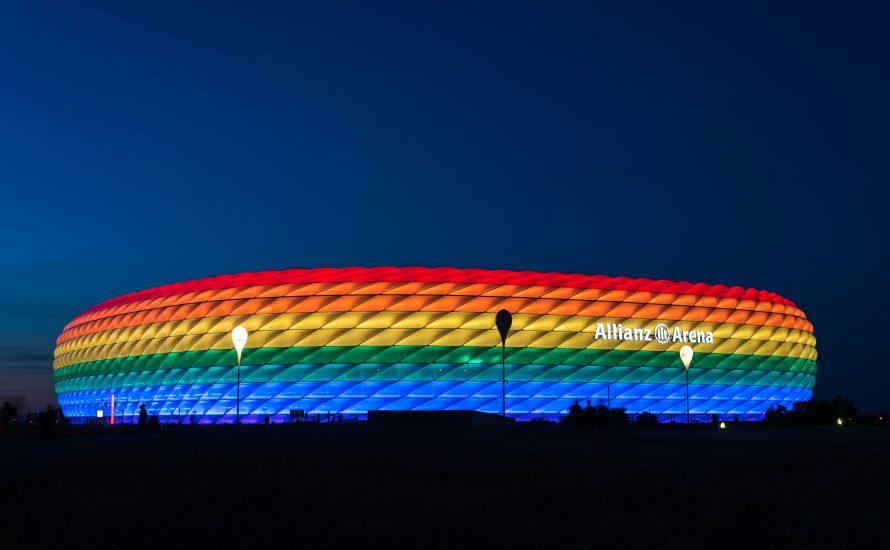 Fußballmafia UEFA: Mit eurer Queerfeindlichkeit könnt ihr nach Hause fahr'n!
