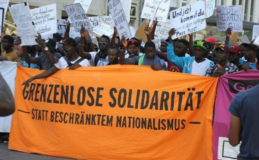 Gemeinsam kämpfen gegen die Kriege der NATO und für ein Bleiberecht aller Geflüchteten!