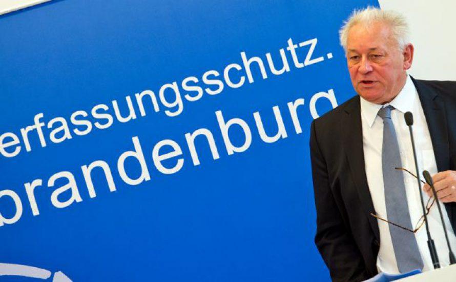 Landesverfassungsschutzchef aus der Uni Potsdam geworfen!