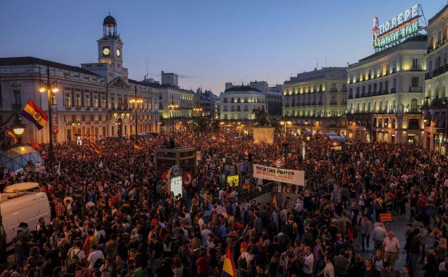 Spanischer Staat: Kämpfen wir für einen revolutionären verfassungsgebenden Prozess!
