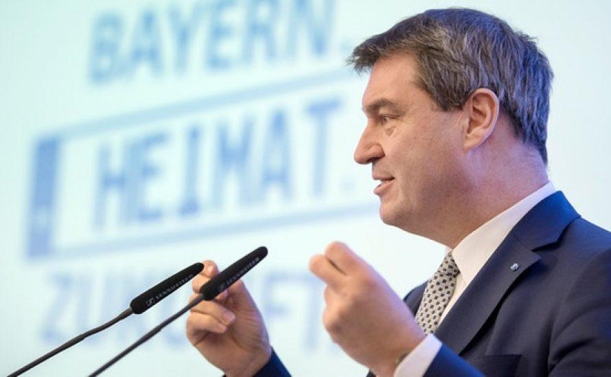 Söder: Mehr Bayern in Bayern, weil mehr Bayern gut für Bayern in Bayern ist