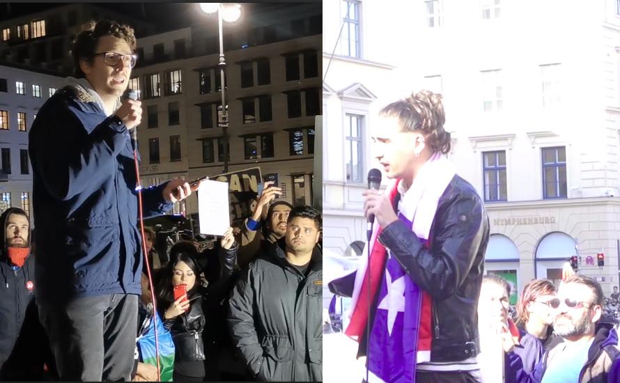 [Videos] Solidarität mit Chile aus München und Berlin