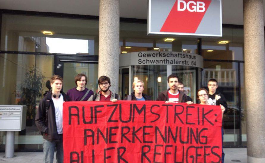 München: Solidarität mit Refugee Struggle for Freedom
