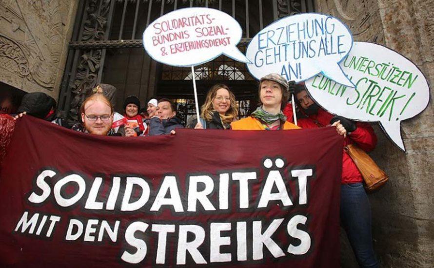 Die Streiks zusammenführen!