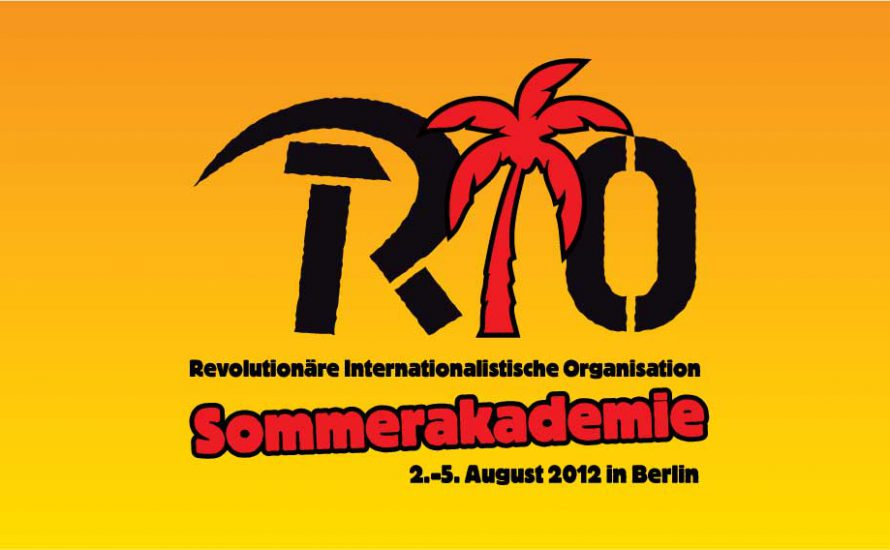 RIO-Sommerakademie 2012