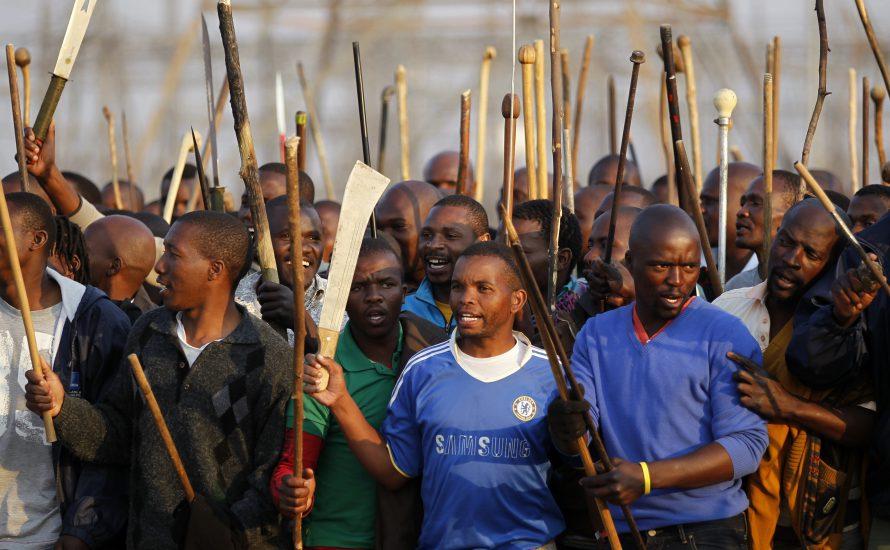 Südafrika: Die ANC-Regierung tötet 34 MinenarbeiterInnen